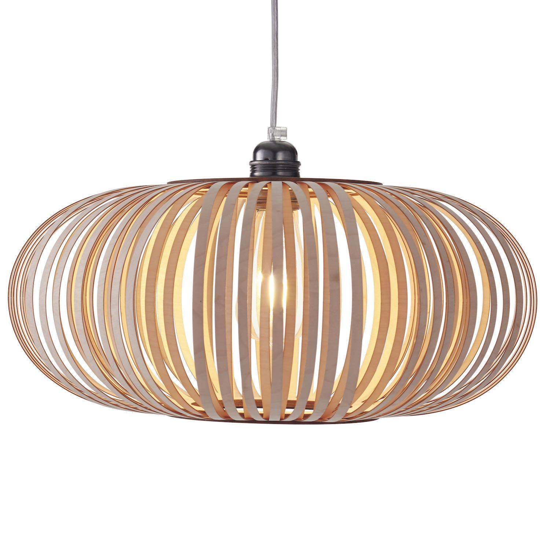 Nowoczesna Lampa Drewniana Stripes N 2 Retro Woolights