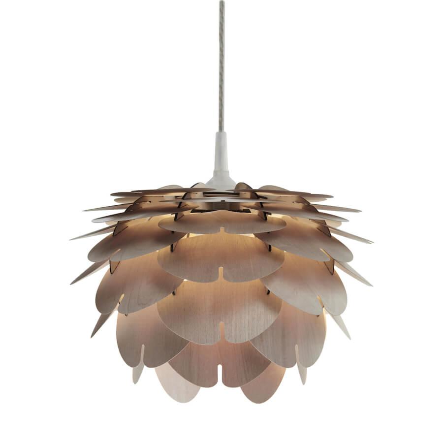 Aiko Mini lampa wisząca wykonana z cienkiej sklejki