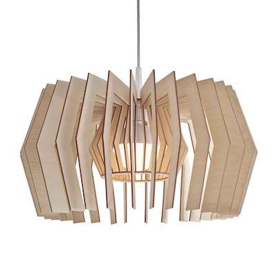 Equi lampa wisząca wykonana ze sklejki