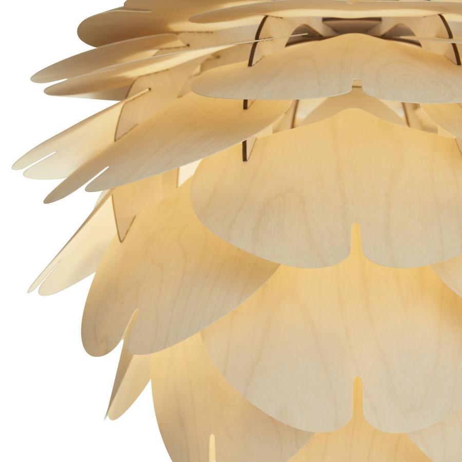 Aiko lampa drewniana wykonana z cienkiej sklejki
