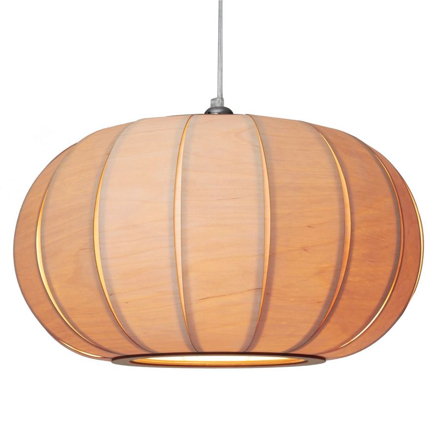 Tangerine 50 - duża lampa drewniana