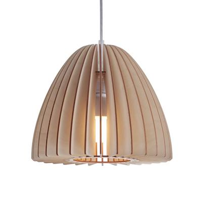 Lampa drewniana Nika Large