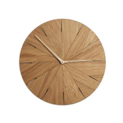 Duży drewniany zegar ścienny N˚ 10 50cm