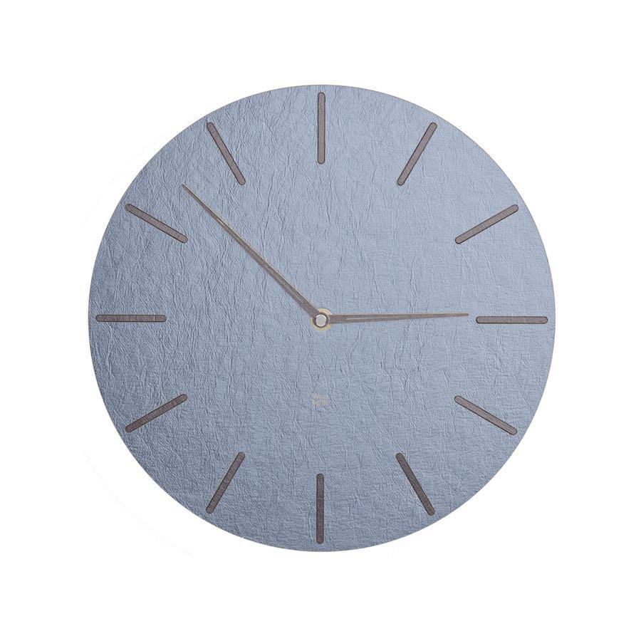 Zegar ścienny niebieski N˚ 2.1 BeS
