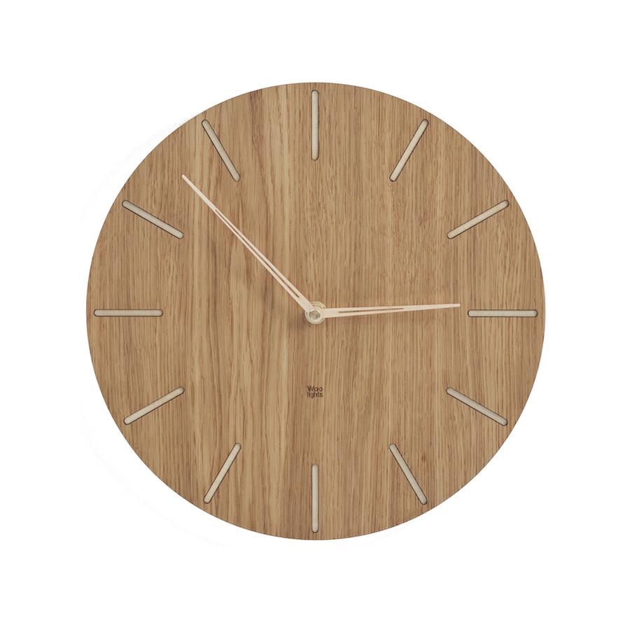 Mały zegar drewniany N˚ 2.1 OB 20