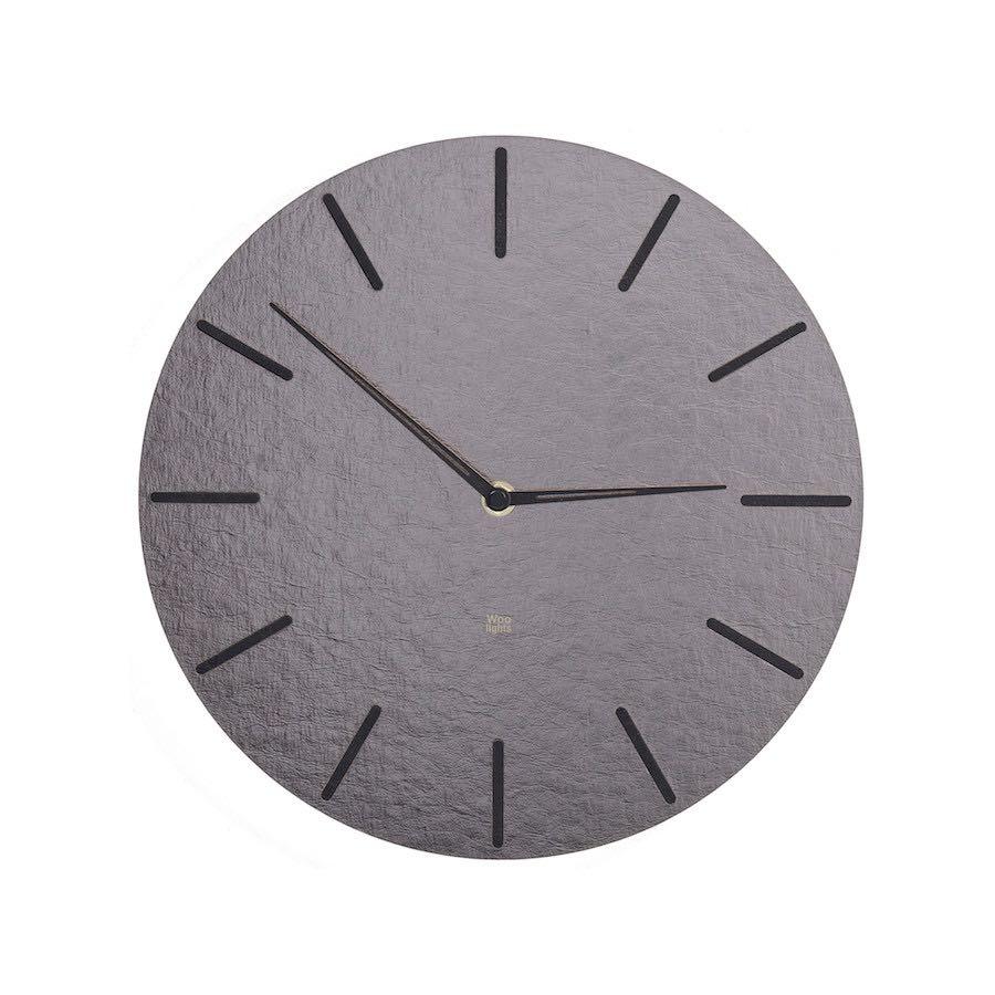 Zegar ścienny srebrny N˚ 2.1 SB