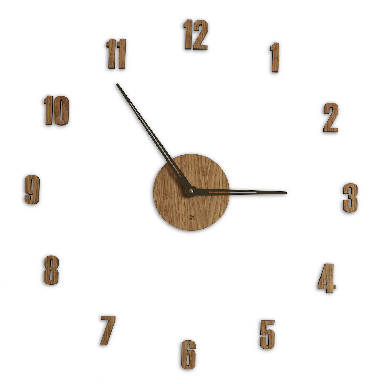 Zegar Do Salonu Drewniany Nowoczesny